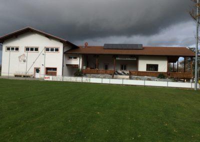 Bild Vereinsheim und Turnhalle 2017